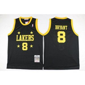 LA Lakers %238 Kobe Bryant Black Jersey